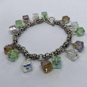 Sterling & Crystal Bracelet